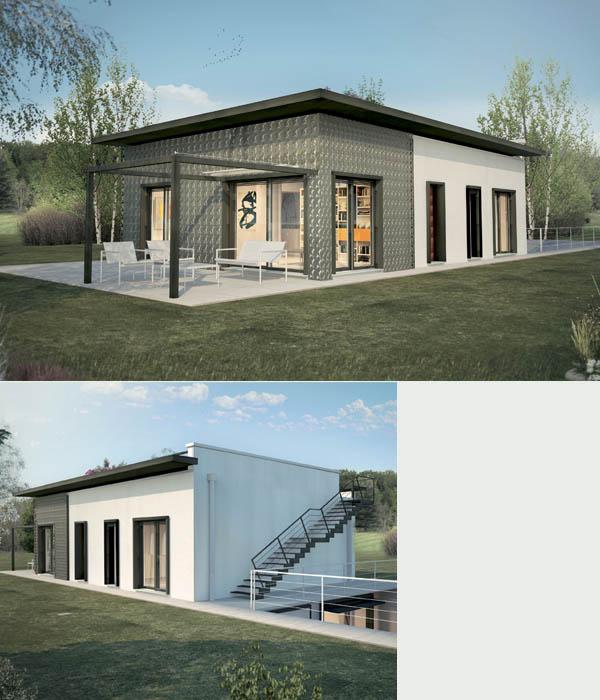 Fumagalli co case prefabbricate ville antisismiche for Costruzioni case moderne